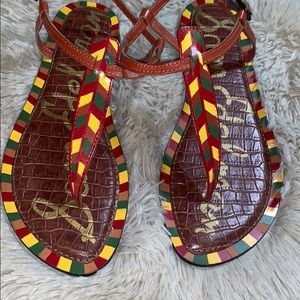 Sam Edelman Shoes - NWOB SAM EDELMAN Gigi Saddle Painted Sandals